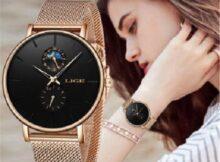 наручные часы с браслетом